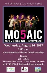 Mo5aic poster